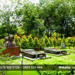 Mẫu thiết kế lăng mộ đẹp của nghệ sĩ nổi tiếng tại Hoa viên Nghĩa trang Bình Dương