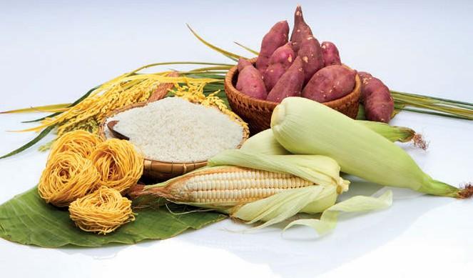 Các loại thực phẩm giàu đường, bột