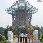 """Mời bạn đến thăm công trình """"cây đa Hồn Việt"""""""
