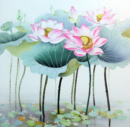 Ý nghĩa hoa sen trong Phật giáo (ảnh minh họa)