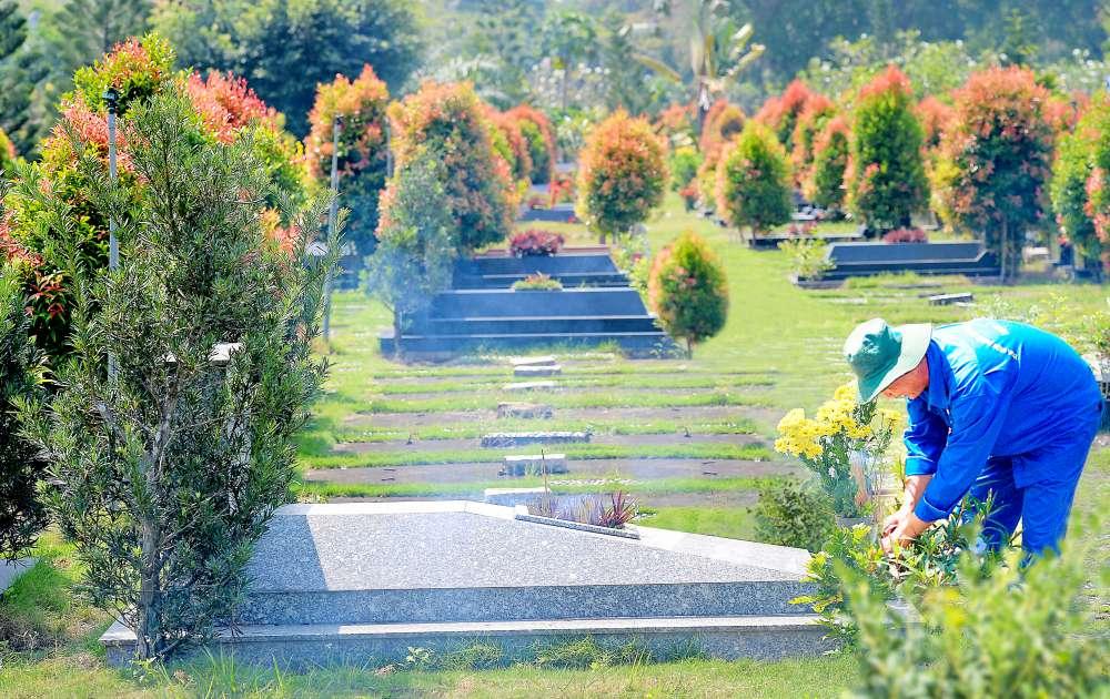 Dịch vụ cúng mộ từ xa tại Hoa Viên nghĩa trang Bình Dương